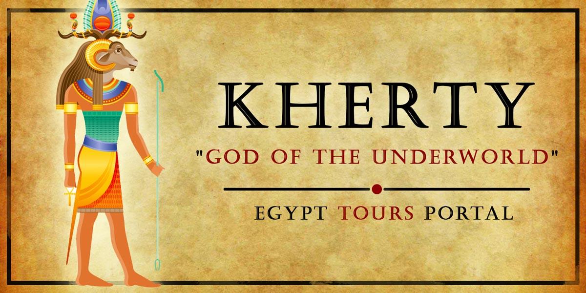 Kherty, God of the Underworld - Ancient Egyptian Gods And Goddesses - Egypt Tours Portal