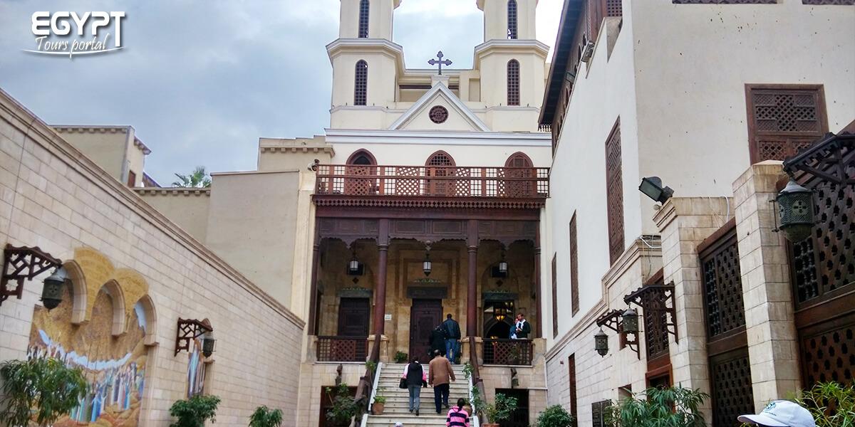 The Interiorof the Hanging Church - Egypt Tours Portal