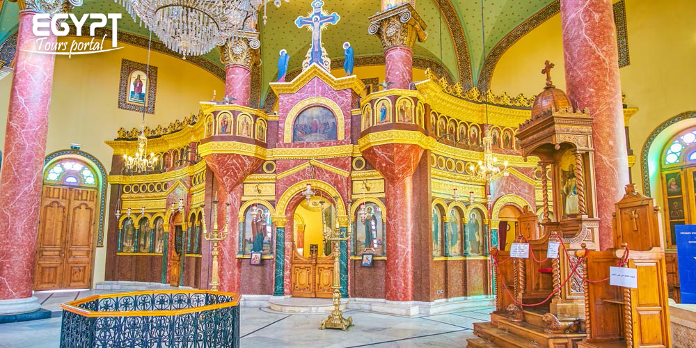 St George Church Design - Egypt Tours Portal