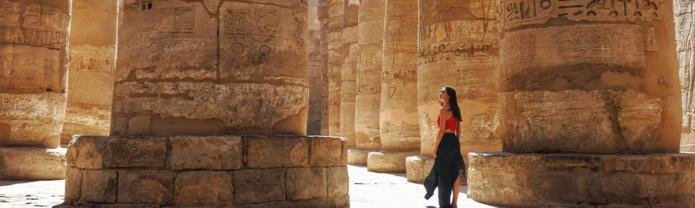 Day One:Emark the Cruise - Visit Luxor East Bank Landmarks