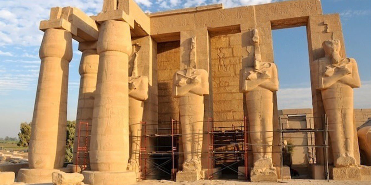 Tthe Rameessum Temple of King Ramses II - Things to do in Luxor Egypt Tours Portal