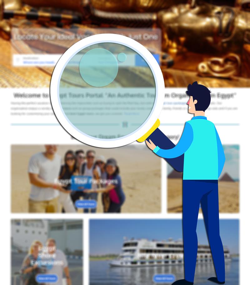 Search on Site - Egypt Tours Portal