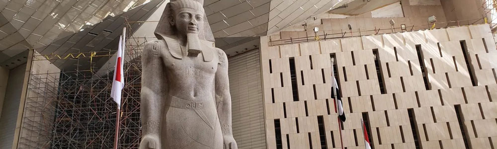 The Itinerary of the Grand Egyptian Museum & Giza Pyramids Tour from Cairo