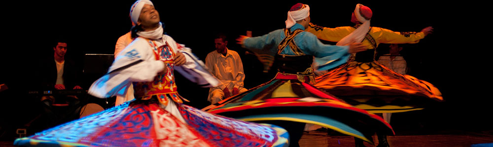 The Itinerary of Wekalet El-Ghouri Tanoura Show