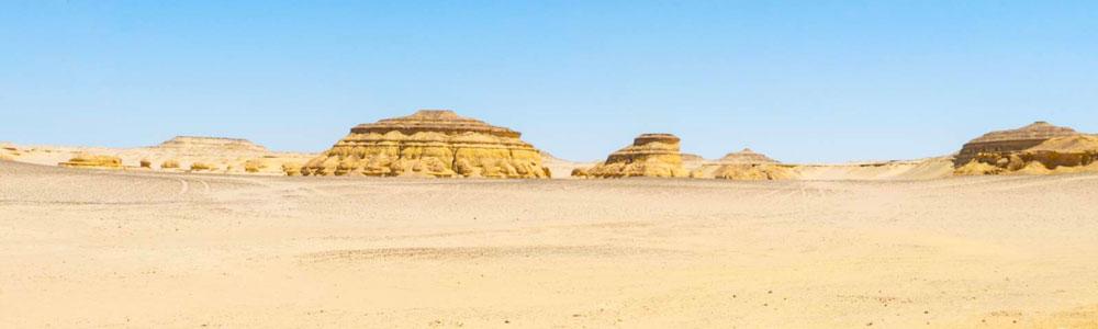 The Itinerary of Wadi El Hitan & Fayoum Desert Safari Tour